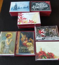 10 boxes of Christmas cards; 7 designs, 152 cards, over $100 MSRP!