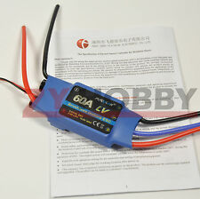 FlyColor 60A 2-4S Brushless Motor ESC Speed Controller For RC Plane Helicopter
