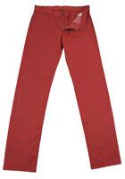 Nuovo Canali Rosso Solido Pantaloni - Slim - 42/58 - (915009090693)