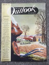 The New OUTLOOK on MOTORING January 1949 Magazine