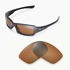 New Walleva Polarized Brown Replacement Lenses For Oakley Fives Squared