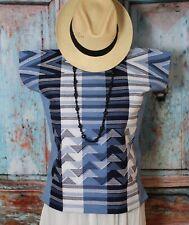 #2 Mayan Huipil Tunic Top New Style from Zinacantan Handwoven Chiapas Mexico