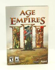 Age of Empires III 3 (PC, 2005) Amazing Vintage Original Computer Game