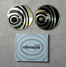 """CD AUDIO MUSIQUE FR / OBISPO """"LIVE 98""""  2XCD  ALBUM 1998 EPIC - EPC 489677-2 15T"""