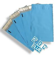 uPaknShip 6x9 Blue Print poly mailers shipping envelopes