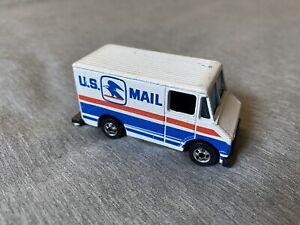 Vintage Hot Wheels U.S. Mail Truck Black 1976 Hong Kong Base 1:64 Loose