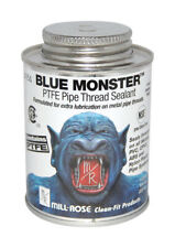 Mill Rose  Blue Monster  White  Pipe Thread Sealant  4 oz.