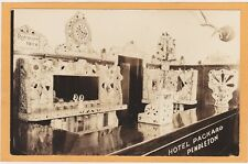 Real Photo Postcard RPPC - Mosaic Bar Roesch's Beer Hotel Packard Pendleton OR