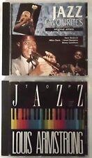 Top jazz LOUIS ARMSTRONG-Jazz Favourites: Brubeck, Davis, Hampton, CD Paquet