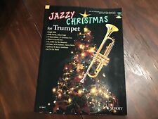 Jazzy Christmas for Trumpet Intermediate Jazz Sheet Music Book Cd Pack