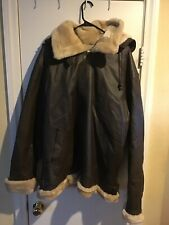 Tanners Avenue Brown Leather Coat