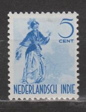 Nederlands Indie Indonesie nr 302 MLH Netherlands Indies 1941 Inheemse dansers