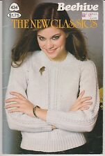 Vintage Knitting Patterns | Beehive 434 The New Classics | 1981