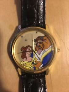 Beauty and the Beast Music Watch TESTED VINTAGE