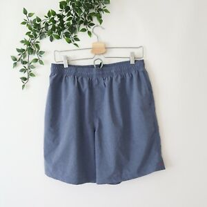 Chubbies Mens Side Pockets Elastic Waistband Polyester Blend Shorts L Large Blue