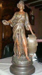 Statue en régule de Kossowski grand modèle 68 cm
