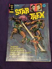 STAR TREK #22 (1974) VF+ condition a Gold Key comic TV cover Nimoy & Shatner 9.0