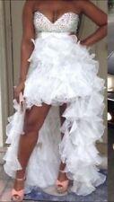 Sherri Hill Ivory Prom Dress Sz 12