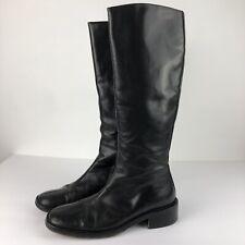 Free Lance Paris Brown Leather Boots 36.5 US 6.5