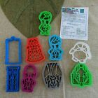BBC's Dr. Doctor WHO Set Lot of 9 Cookie Cutters  No Box