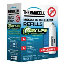ThermaCELL L-4 Mosquito Repellent Max-Life Refill Value Pack, 48 Hours