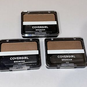 3 NEW  Covergirl Cheekers Bronzer Blush Copper Radiance 102