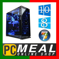INTEL Core i7 7700 Max 4.2GHz GAMING COMPUTER 1TB 8GB DDR4 HDMI Quad Desktop PC