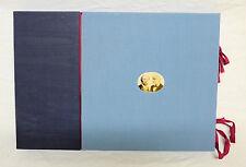 Kassette mit Faksimile Dokumenten von Mercedes-Benz, von 1986