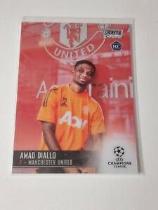 2020/21 Topps Chrome Stadium UEFA- Amad Diallo Man Utd. RC Rookie Card #70, MInt