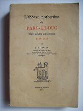 histoire abbaye Parc-le-Duc Louvain Leuven religion Brabant Flandre 1929