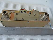 RF Power Amplifier Band 3 by Telefunken 225 - 400 Mhz  Transistor 2N4976 2N4429
