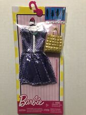 Barbie 2016 Fashionista Complete Look Fashion Set  Dress Necklace & Bag