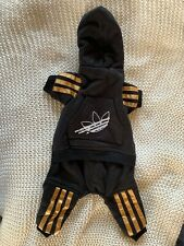 """New listing New """"Adidas"""" Jumpsuit Pet Clothing Super Cute For Small Puppies"""