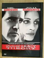 CONSPIRACY THEORY- MEL GIBSON, JULIA ROBERTS -MINT DVD- REGION 2