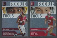 2019 Panini Unparalleled ROOKIE FOCUS Insert RCs Complete Your Set - You Pick!