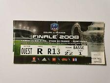 FOOTBALL TICKET BILLET MATCH FINALE COUPE DE FRANCE 2008 LYON / PSG PARIS