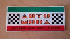 Adesivo Sticker AUTO MODA accessori auto moto Firenze  cm 10 x 4,5 circa