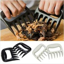 Pulled and Shredded Slow Cooked Roast Pork and Barbecued Beef - Using The Claws