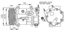 Compressore Peugeot 2008 1.4 Diesel HDI Dal 2013 ->