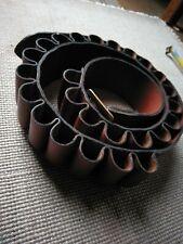 Tan Leather 12g Cartridge Belt