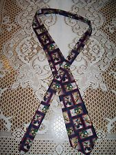 Disney Mickey Mouse Football Sports Tie by Mickey Unlimited Donald Duck Goofy