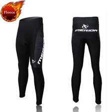Merida Men's Winter Cycling Trousers Thermal Cycle Fleece Tights Pants Padded