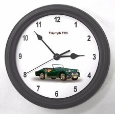 Triumph TR3 Garage Wall Clock New Great Gift!