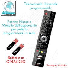 Telecomando UNIVERSALE COMPATIBIE PROGRAMMABILE ADB HUMAX AKAI NOKIA ICAN ENGEL