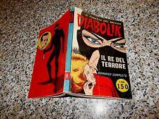 DIABOLIK PRIMA 1° SERIE ORIGINALE N.1 DEL 1962 INGOGLIA OTTIMO