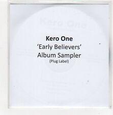 (FC252) Kero One, Early Believers sampler - 2009 DJ CD