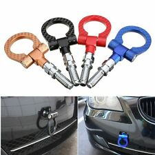 Portable Tow Hook Ring Aluminium Alloy Car Strap Front Rear Racing Turbo For BMW