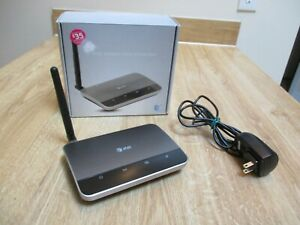 AT&T WF720 Wireless Home Phone Base  Silver Untested Powers Up Fine