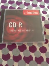 Imation CD-R Disc 80min/700MB 52 X Speed Brand New!!