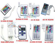 11 24 40 44 key IR RF Remote Control For RGB RGBW RGBWW 3528 5050 5630 LED Light